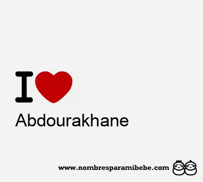 Abdourakhane
