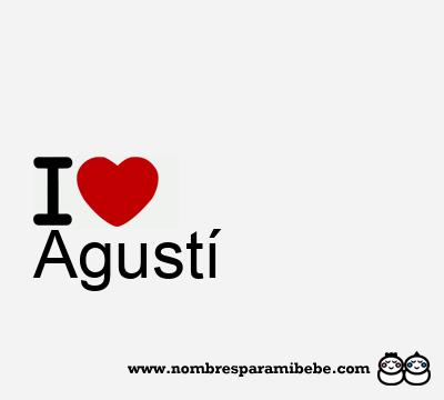 Agustí
