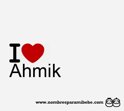 Ahmik