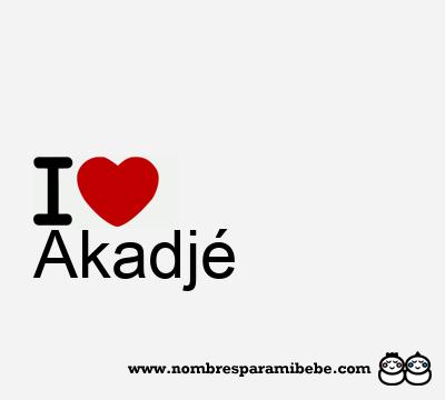 Akadjé