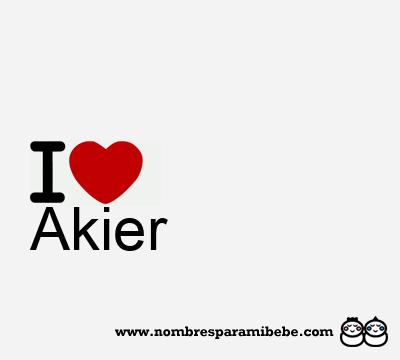 Akier
