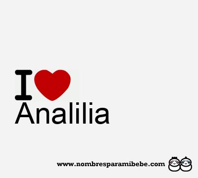 Analilia