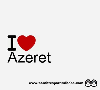 Azeret