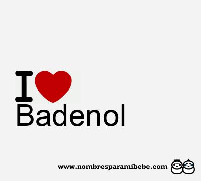 Badenol
