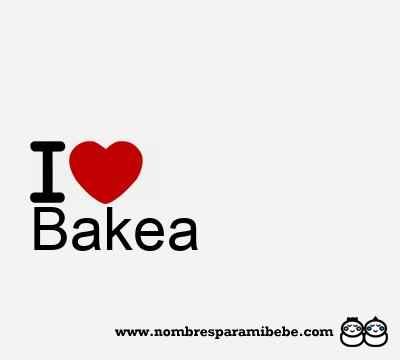 Bakea