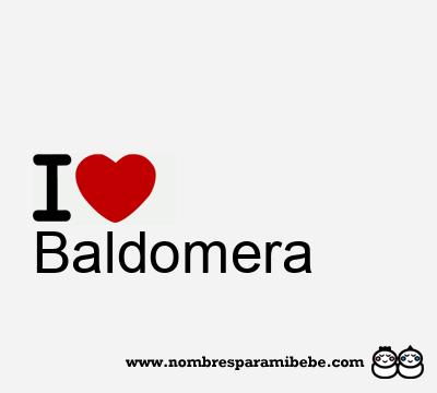 Baldomera