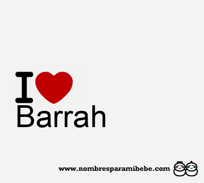 Barrah