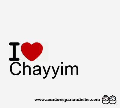 Chayyim