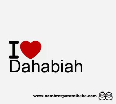 Dahabiah