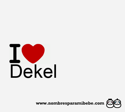 Dekel