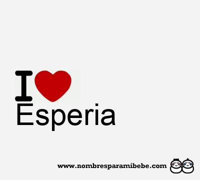 Esperia