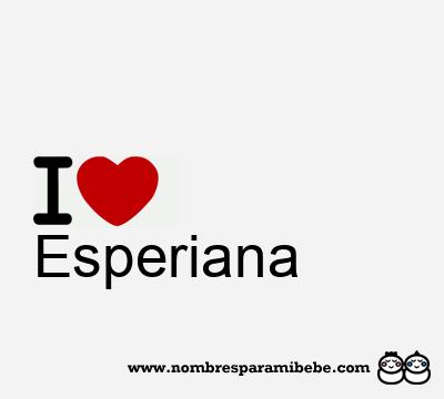 Esperiana