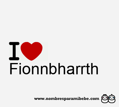Fionnbharrth