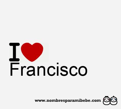 el significado de el nombre francisco: