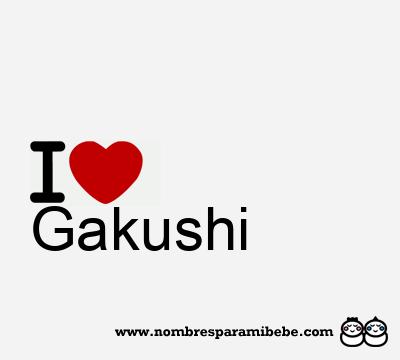 Gakushi