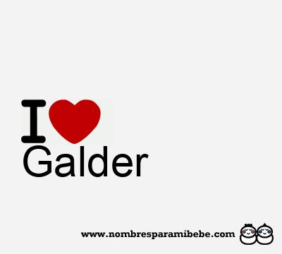 Galder