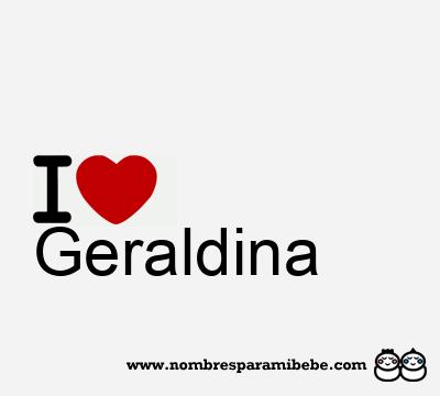 Geraldina