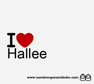 Hallee