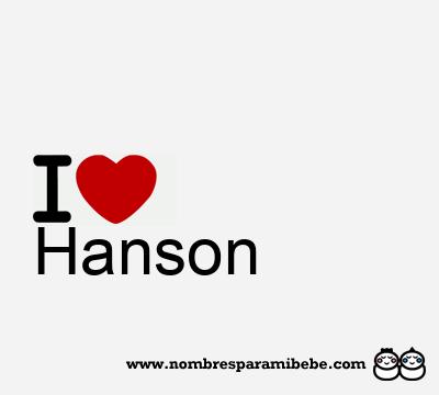 Hanson