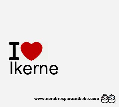 Ikerne