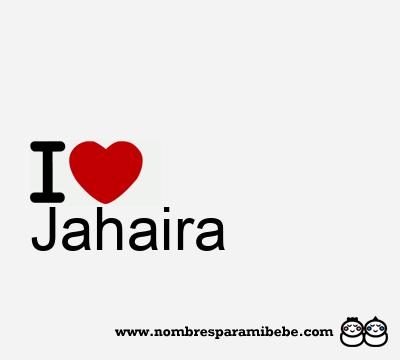 Jahaira