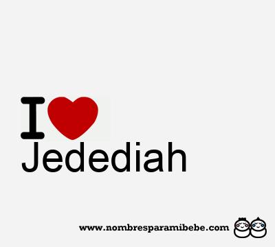 Jedediah