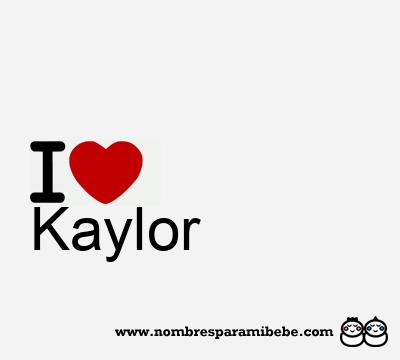 Kaylor