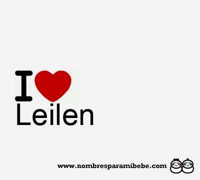 Leilen