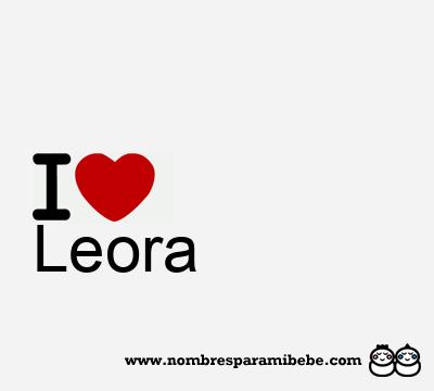 Leora