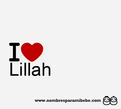 Lillah