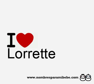 Lorrette