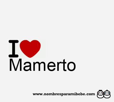 Mamerto