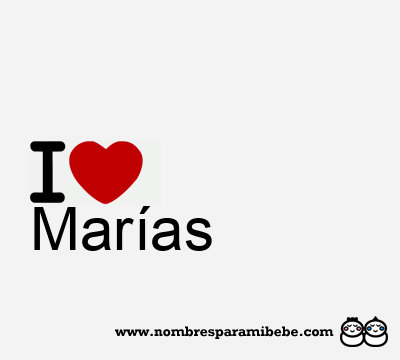 Marías
