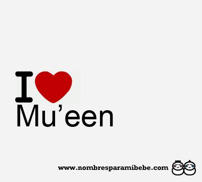 Mu'een