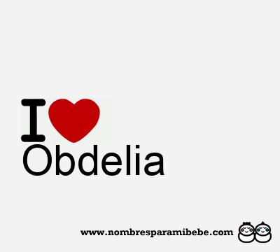 Obdelia