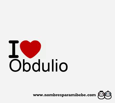 Obdulio