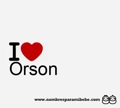 Orson