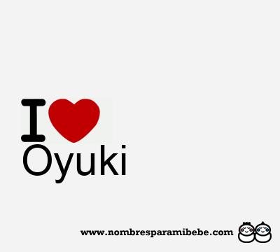 Oyuki