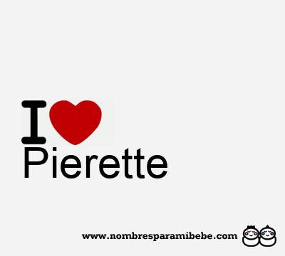 Pierette