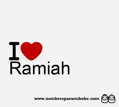 Ramiah