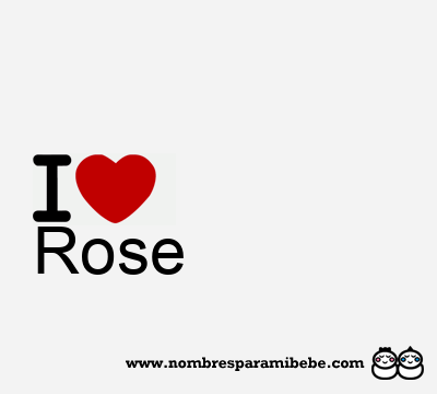 rose nombre rose significado de rose. Black Bedroom Furniture Sets. Home Design Ideas