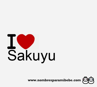 Sakuyu