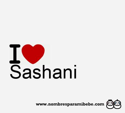 Sashani