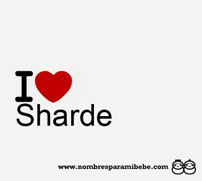 Sharde