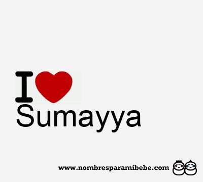 Sumayya