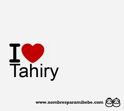 Tahiry