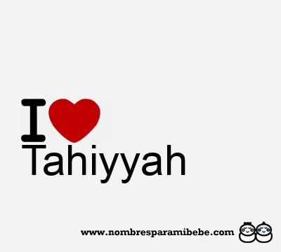 Tahiyyah