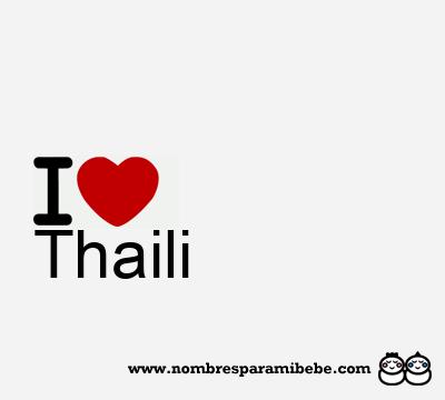 Thaili