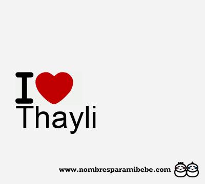 Thayli