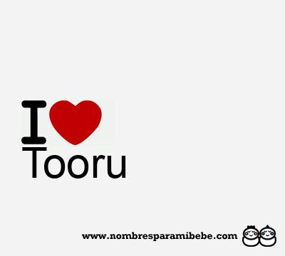 Tooru